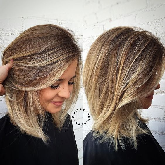 ombré hair cheveux fins