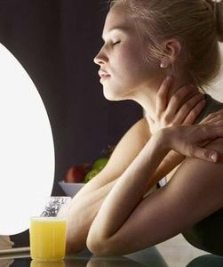 Lampe luminothérapie contre la fatigue